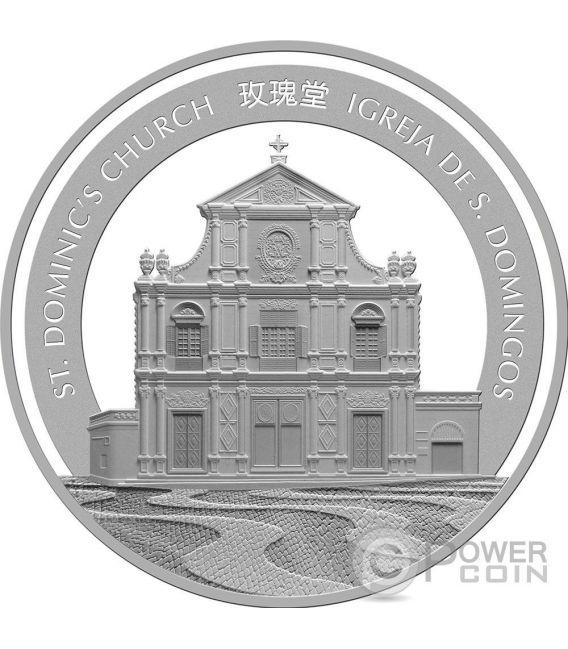 GALLO Rooster Anno Lunare Zodiaco Cinese 1 Oz Moneta Argento 20 Patacas Macao 2017