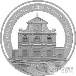 ROOSTER Lunar Year 1 Oz Silber Proof Münze 20 Patacas Macao Macau 2017