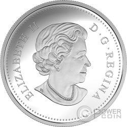 PRONGHORN Landscape Illusion Silver Coin 20$ Canada 2017
