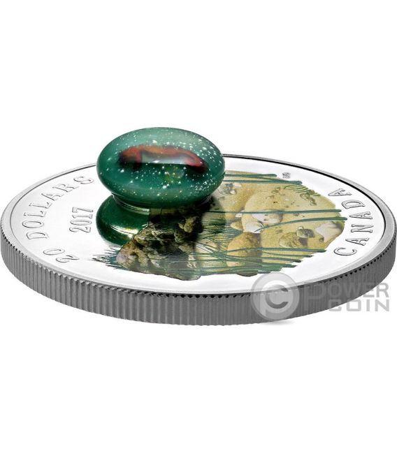 SEAHORSE Under The Sea Silver Coin 20$ Canada 2017