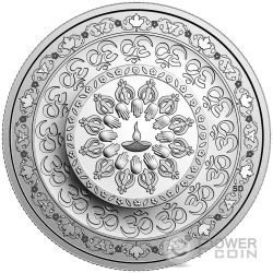 DIWALI Festival of Lights Silver Coin 20$ Canada 2016