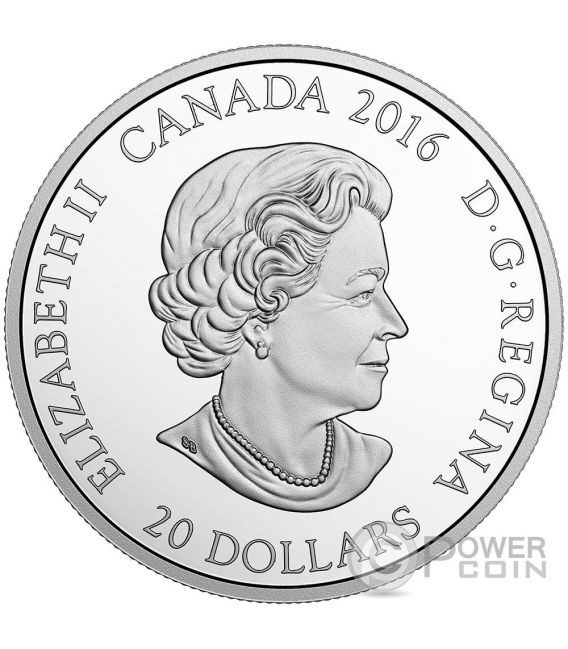 DIWALI Festival of Lights Silber Münze 20$ Canada 2016
