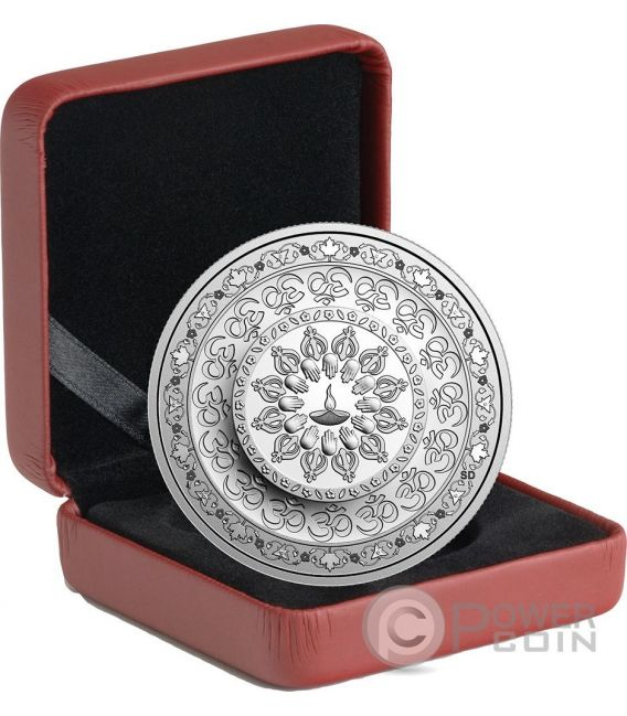 DIWALI Festival of Lights Moneda Plata 20$ Canada 2016