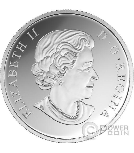 DRAGONFLY Nature Ornaments Niobium 1 Oz Silver Coin 20$ Canada 2017