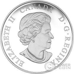BENEVOLENT BISON Bisonte Majestic Animal Moneta Argento 20$ Canada 2016
