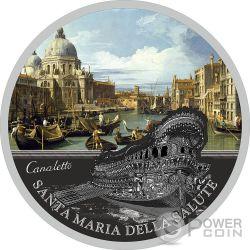 SANTA MARIA DELLA SALUTE SOS Venice 1 Oz Moneta Argento 2$ Niue 2016