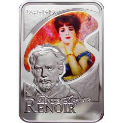 RENOIR Pierre Auguste Silver Coin 10D Andorra 2008