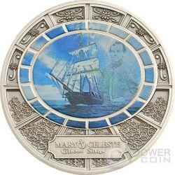 MARY CELESTE Ghost Ship Moneda Plata 1$ Niue 2013