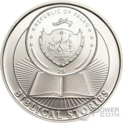 TOWER OF BABEL Biblical Stories Cloud Edition Set 2 Plata Monedas 2$ Palau 2016