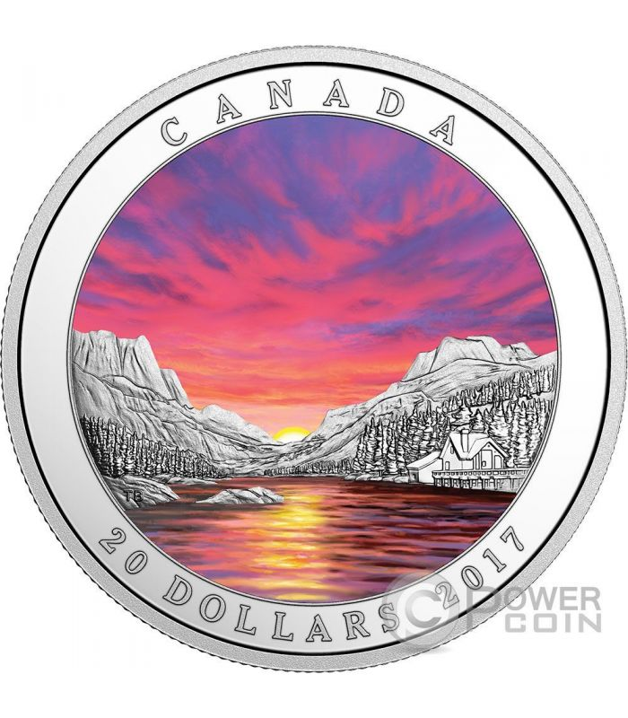 Fiery Sky Weather Phenomenon Silver Coin 20 Canada 2017