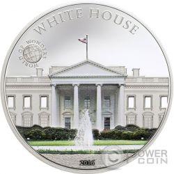WHITE HOUSE World of Wonders Moneda Plata 5$ Palau 2016