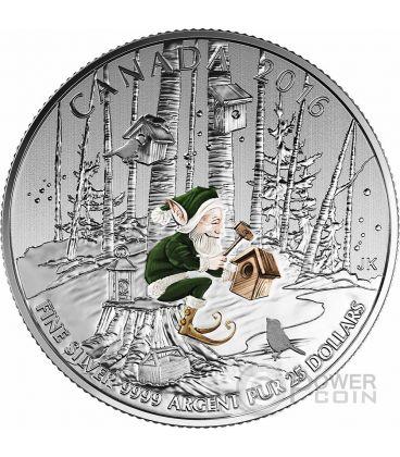 WOODLAND ELF Silver Coin 25$ Canada 2016