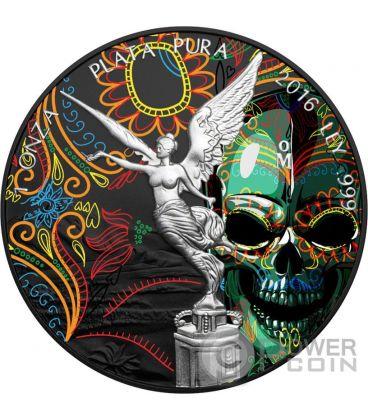 HALLOWEEN Mexican Libertad 1 Oz Silver Coin Mexico 2016