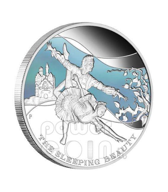 FAMOUS BALLETS 5 Silber Münze Set 1$ Tuvalu 2010