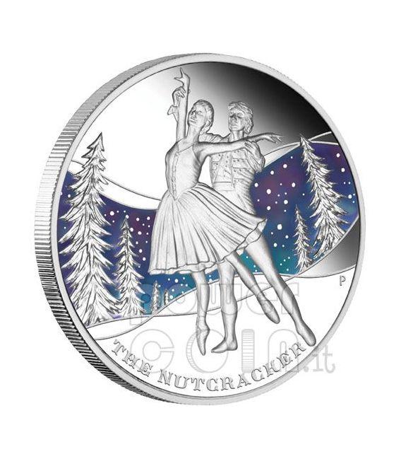 FAMOUS BALLETS 5 Moneda Plata Set 1$ Tuvalu 2010
