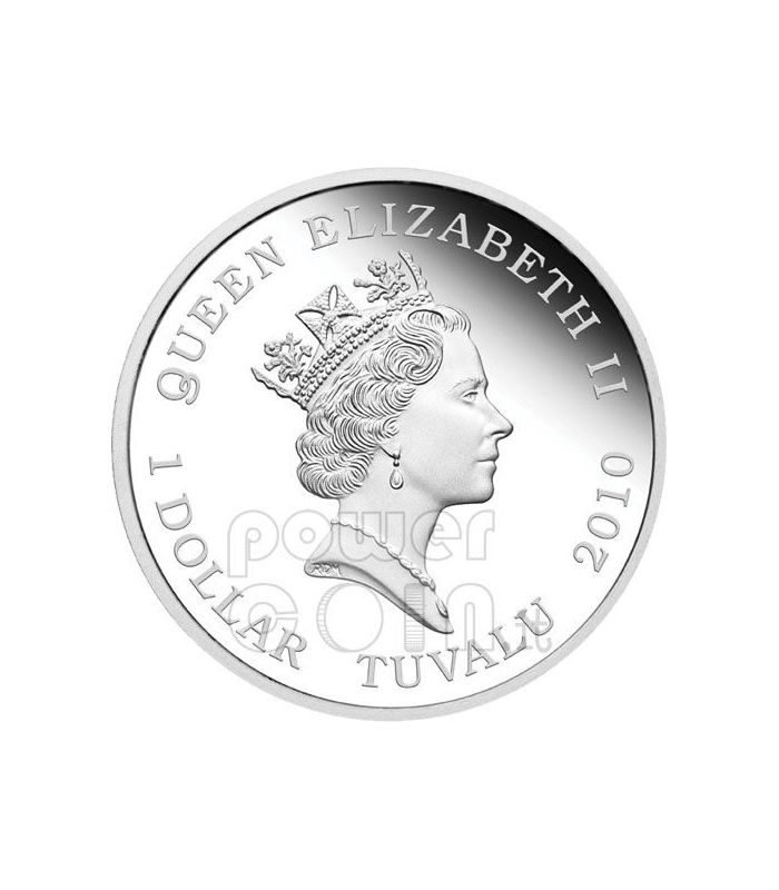 Famous Ballets 5 Silver Coin Set 1 Tuvalu 2010 Power Coin