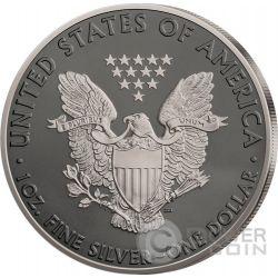 WALKING LIBERTY Prestige Set 4x1 Oz Moneda Plata 1$ Dollar US Mint 2016