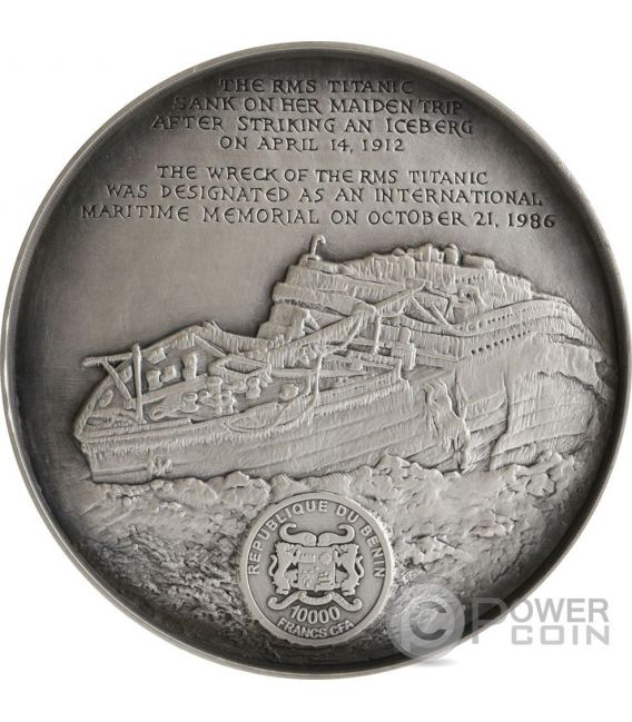 Deep Sea Titanic Wreck World Heritage 1 Kg Kilo Silver