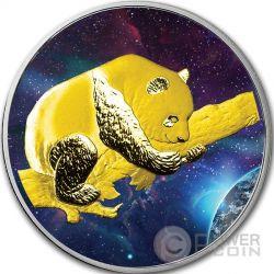 BIG BANG PANDA Серебро Монета 10 Юаней Китай 2016