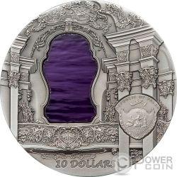 TIFFANY ART ROCOCO 2 Oz Серебро Монета 10$ Палау 2010