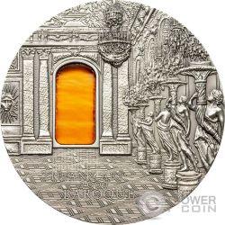TIFFANY ART BAROQUE 2 Oz Silver Coin 10$ Palau 2009