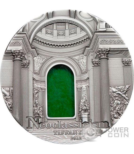 TIFFANY ART NEOCLASSICISMO Moneta Argento 2 Oz 10$ Palau 2012