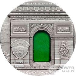 TIFFANY ART NEOCLASSICISM 2 Oz Серебро Монета 10$ Палау 2012