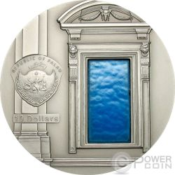 TIFFANY ART RENAISSANCE Michelangelo 2 Oz Серебро Монета 10$ Палау 2007