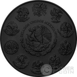SANTA MUERTE Mexican Libertad 1 Oz Серебро Монета Мексика 2016
