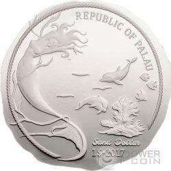 SAND DOLLAR 1 Oz Серебро Монета 1$ Палау 2017