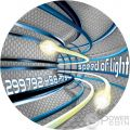 SPEED OF LIGHT Code Of The Future 2 Oz Silver Coin 2$ Niue 2016