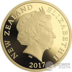 MYTHICAL TANIWHA Maori Tekau Tara 1 Oz Gold Münze 10$ New Zealand 2017