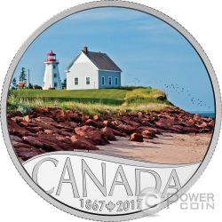 PANMURE ISLAND 150 Anniversario Moneta Argento 10$ Canada 2017