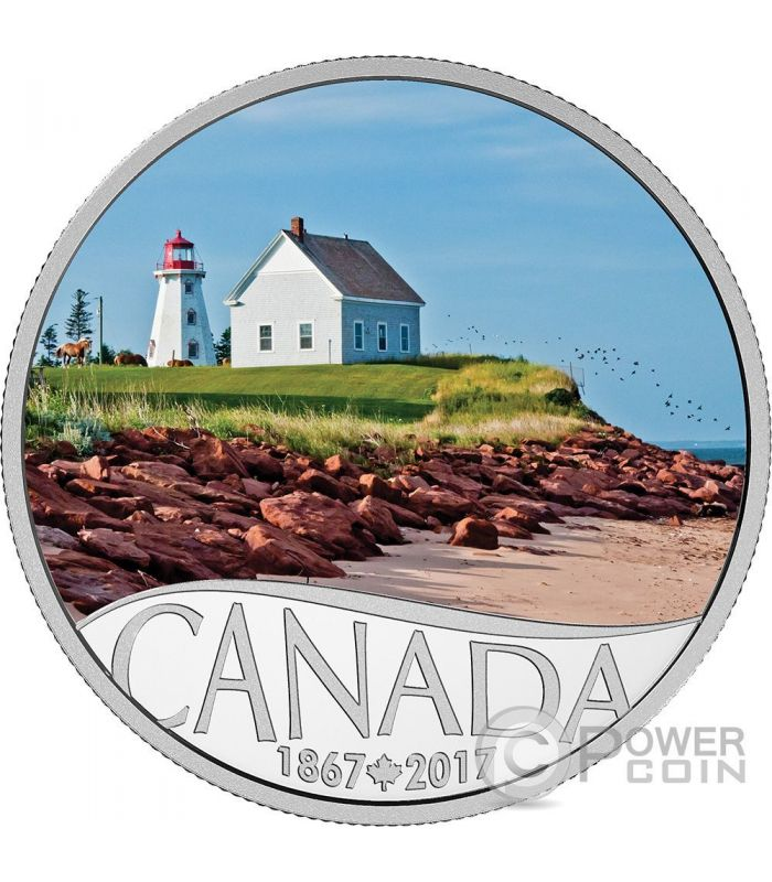 Panmure Island Celebrating 150th Anniversary Silver Coin