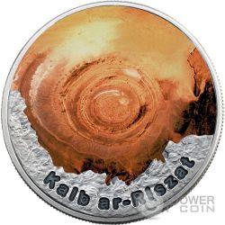 EYE OF THE SAHARA Circle Of Secrets 1 Oz Silver Coin 2$ Niue 2016