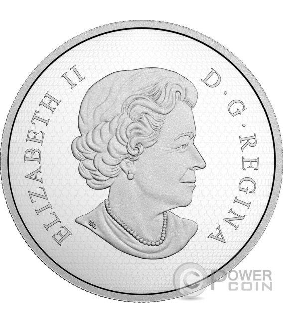 COUGAR Sculpture Of Majestic Animals 3D Серебро Монета 100$ Канада 2017
