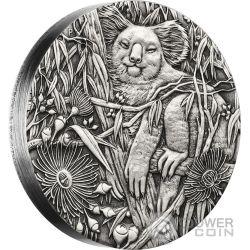 AUSTRALIAN KOALA 2 Oz Silver Coin 2$ Australia 2017