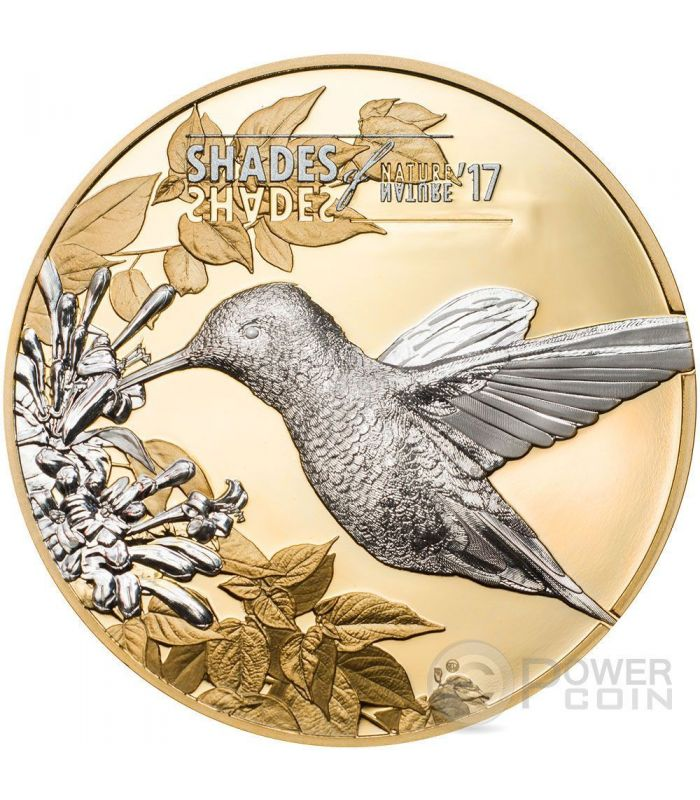 hummingbird shades of nature silver coin 5 cook islands 2017 power coin. Black Bedroom Furniture Sets. Home Design Ideas