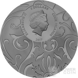 SCARAB SELECTION Set 3x1 Oz Silver Coins 5$ Cook Islands 2017