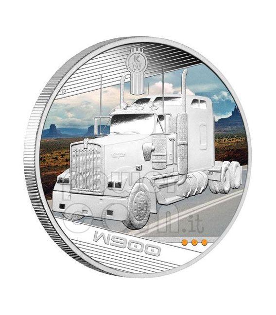 KINGS OF THE ROAD Trucks 4 Moneda Plata Set 1$ Tuvalu 2010