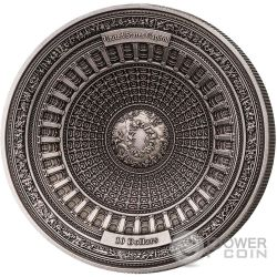 UNITED STATES CAPITOL Capitolio Estados Unidos 4 Layer Moneda Plata 10$ Samoa 2017