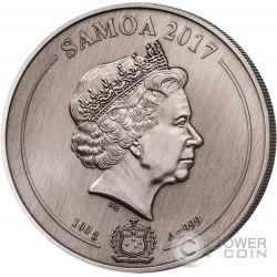 UNITED STATES CAPITOL 4 Layer Silber Münze 10$ Samoa 2017