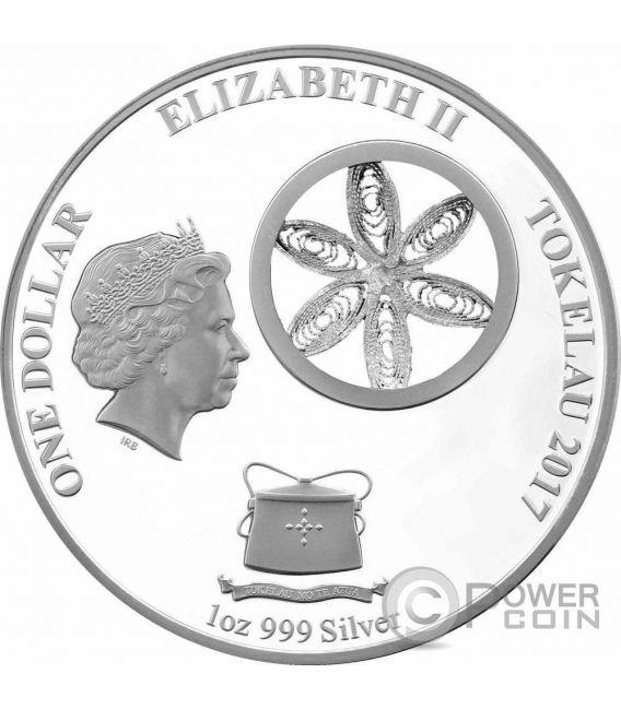 SNOWFLAKE BEARS Osos de las Nieves Set 3x1 Oz Monedas Plata 1$ Tokelau 2015 2016 2017
