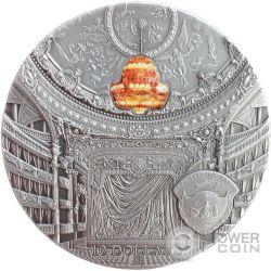 OPERA GARNIER Famous Opera 2 Oz Silver Coin 10$ Palau 2014