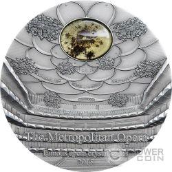 METROPOLITAN OPERA Famous Opera 2 Oz Moneta Argento 10$ Palau 2015