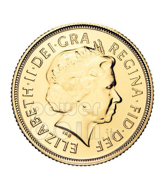 GOLD FULL SOVEREIGN QE2 Moneda BU New Unc Royal Mint 2010
