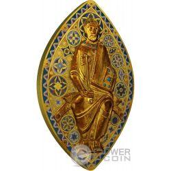 ST PETER IN GLORY San Pietro in Gloria World Heritage 1 Oz Moneta Argento 2$ Niue 2014
