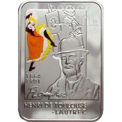 LAUTREC Henri De Toulouse Silber Münze 1$ Niue 2008
