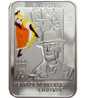 LAUTREC Henri De Toulouse Moneta Argento 1$ Niue 2008
