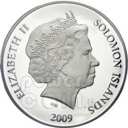 RAPHAEL ARCHANGEL Guardian Angel Серебро Монета 1$ Соломонские Острова 2009